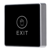 Door Touch Exit Release Button Switch with LED Backlight for Entry Access Control