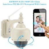 """Segunda Mão KKmoon® 3.5 """"H.264 HD 960 P 2.8-12mm Auto-foco PTZ Sem Fio Wi-fi IP Câmera de Segurança CCTV Câmera de Vigilância Em Casa"""