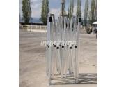 Estructura de segunda mano tubo TP 2x4m aluminio 40mm.