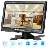 7 Inch Record Snapshot Playback CCTV Car Video Monitor