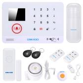 OWSOO 433MHz Sistema de segurança sem fio 3G SMS Alarm
