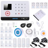 OWSOO 433MHz Wireless Alarm Security System 9pcs Door Sensor