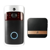 Smart Wireless WiFi Security DoorBell Videocitofono con registrazione visiva del gong plug-in