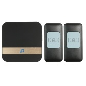 Wireless Smart Ding-dong Doorbell with 1*Indoor Unit 2*Outdoor Unit