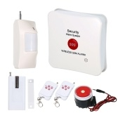 Wireless GSM SMS Home Burglar Security Alarm System