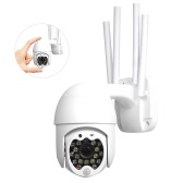 17PCS Lights 1080p IP-камера Wi-Fi ИК-камера видеонаблюдения