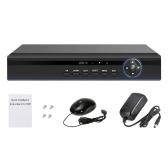 Цифровой видеорегистратор с цифровым видеорегистратором ACHD / ONVIF 4CH 1080P, высокой четкости, гибридный IP / аналоговый / TVI / CVI / DVR
