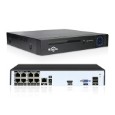 8CH NVR PoE Network Video Recorder