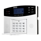 Wireless GSM SMS Home Einbrecher Sicherheit Alarm System Detektor Sensor Kit-Fernbedienung 433MHz