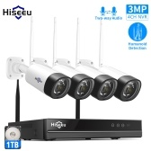 3MP Home Wireless Security Camera System