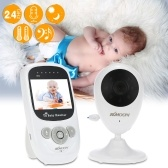 KKmoon 2.4in 2.4GHz Wireless Baby Monitor Alarm Home Security