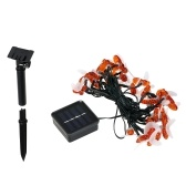 Solar 30 LEDs Bee String Lights Waterproof Outdoor Lights