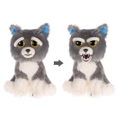 Feisty Pets Sammy Suckerpunch Feisty Films Adorable Plush Stuffed Toy Dog Turns Feisty with a Squeeze