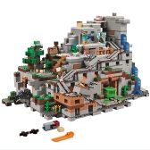 オリジナルボックスLEPIN 18032 2932pcs Minecraftシリーズマウンテンケイブモデルビルディングブロックブリックキット