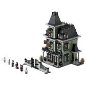 LEPIN 16007 2141pcs Movie Series Monster Fighters Haunted House Model Building Blocks Bricks Kit Set - Paquete de bolsa de plástico