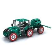 635 szt. Zraszacz samochodowy inteligentny zestaw budowlany zestaw model ze stali nierdzewnej 3d prezent model budynku zabawki edukacyjne