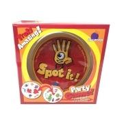 Funny Board Game Spot It Game Znajdź pasujące karty gry Symbol
