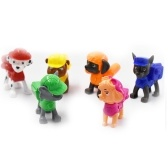Paw Patrol Figure Set 6 Piece Kids Gift Toy