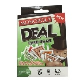 Monopoly Deal Card Game Gry stołowe