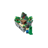 121102 Minecraft 480個のDIYビルディングブロックキットMy World Bricks Self-assembled Toys