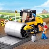 Sluban M38-B0539 171pcs子供のためのシングルスチール車輪ストリートローラービルディングブロック建設玩具