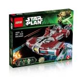 Oryginalne pudełko LEPIN 05085 967szt Krążownik klasy Jedi Defender - zestaw elementów konstrukcyjnych Star Wars Spaceship