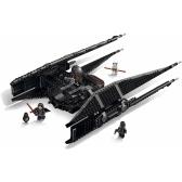 LEPIN 05127 705szt Star Wars Episode VIII Kylo Ren's Tie Fighter Star Wars Spaceship Bloki Zestaw Kit - torba z tworzywa sztucznego pakiet