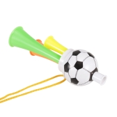 1Pcs Plastic Trumpet Toy with Portable String Cheer Up Horn for Sporting Events and Party Atmosphere Making - Small