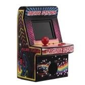 8 Bit Mini Classic Arcade Game Cabinet Machine Retro Handheld Video Player with Built-in 240 Games Portable Gaming Electronic Novelty Toys