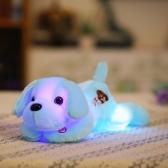 LED Luminous Colorful Glow Night Light Dog Plush Pillow Stuffed Toy Animals Lovely Cushion Soft Doll Kids Children