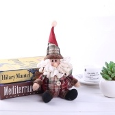 Bambola di decorazione del giocattolo farcito di cotone pupazzo di neve di Babbo Natale