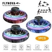 Flynova UFO Fingertip Обновление Полета Гироскопа Летающая вертушка