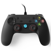 GameSir G3w Wired USB Gamepad Game Controller Joystick para PC y Android y PS3 con soporte para teléfono