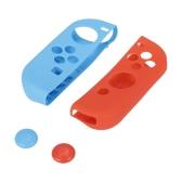 1 paio di silicone resistente alla custodia in gomma protegge la cover per Nintend Switch Joy-Con