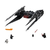 Scatola originale LEPIN 05127 705pcs Star Wars Episodio VIII Combattente di cravatta di Kylo Ren - Set di tasselli di Star Wars Spaceship Building Kit