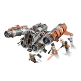LEPIN 05111 482pcs Star Wars Series Jakku Quad Jumper Building Kit Set - Pacchetto sacchetto di plastica