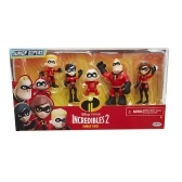 The Incredibles 2 Family 5-Pack Junior Supers Action Figures 7inches Tall Movie Figure Toy