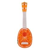 Mini Gitarre Fruit Ukulele pädagogische Musikinstrumente Spielzeug für Kinder