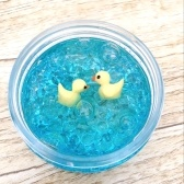 Yellow Duck Anti-stress Crystal Mud Floam Beads Slime Stress Relief Toy