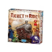 Juegos de cartas de la mesa Ticket to Ride de Days of Wonder