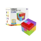 Magic Magnetic Cube 7pcs 54 Schutzkarten 108 Formen