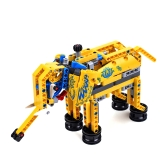 Attractive Building Kits for Boy Gift Construction Set Elephant and Dog Assemble Toy Bright Color