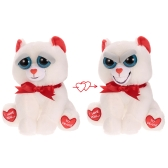 Feisty Pets Bear Taylor Truelove Feisty Films Adorable Plush Stuffed Toy Grins from Ear to Ear - Valentine
