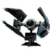 LEPIN 05044 703 szt. Edycja limitowana TIE Interceptor Star Wars Spaceship klocki Zestaw Kit - torba z tworzywa sztucznego pakiet