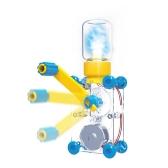 ODEV DIY Dynamo Latarnia Edukacyjne STEM Building Toy Ręcznie Cranked Generator Światła Nauka Eksperymenty Zestawy dla dzieci