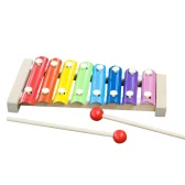 La mano bussa allo strumento musicale dello strumento musicale Xilofono Lo sviluppo di saggezza Sviluppo di abilità di musica Strumento di legno