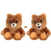 Feisty Pets Sammy Suckerpunch Feisty Films Adorable Pluszowy nadziewany Toy Dog Turn Feisty with a Squeeze