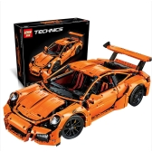 Original Box LEPIN 20001 2758pcs Technic Series Porsche 911 GT3 RS Race Car Model Building Blocks Bricks Kit