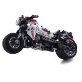 Montaje de bloques de bricolaje Mini 3D Modelo de serie Halley Edificio de motocicletas de juguete ABS Asamblea Micro Brick Juguetes educativos Niños Regalos