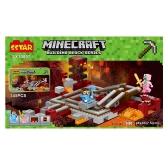 121102 Minecraft 480pcs DIY Building Blocks Kit My World Bricks Self-assembled Toys